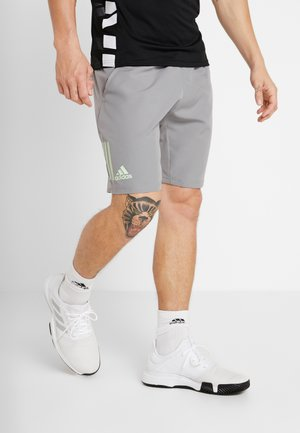 CLUB SHORT - Träningsshorts - grey/glow green