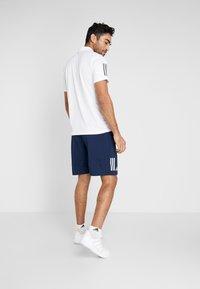 adidas Performance - CLUB SHORT - kurze Sporthose - collegiate navy/white - 2