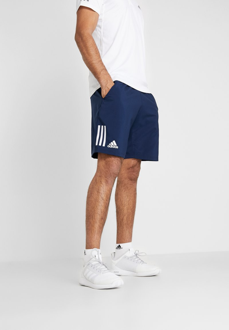 adidas Performance - CLUB SHORT - kurze Sporthose - collegiate navy/white