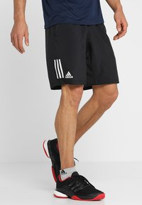adidas Performance - CLUB SHORT - Träningsshorts - black/white - 0