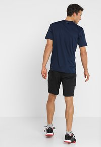 adidas Performance - CLUB SHORT - Träningsshorts - black/white - 2