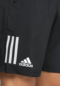adidas Performance - CLUB SHORT - Träningsshorts - black/white - 5
