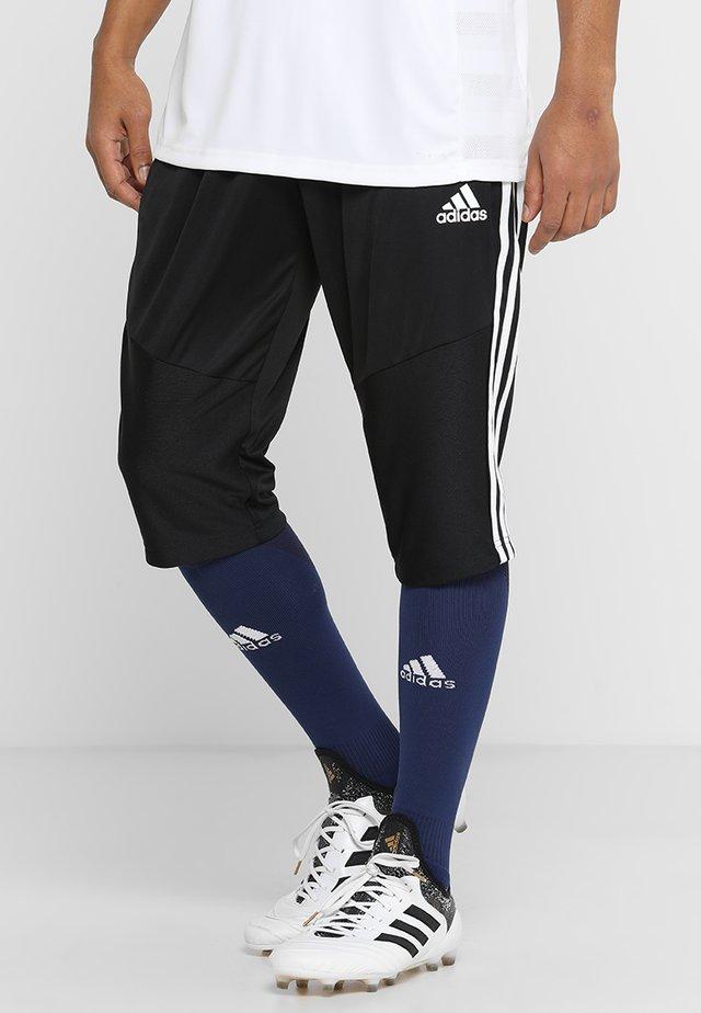 TIRO - Pantalon 3/4 de sport - black/white