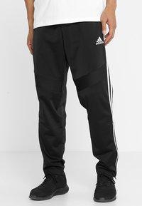 adidas Performance - TIRO - Træningsbukser - black/white - 0