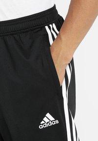 adidas Performance - TIRO - Træningsbukser - black/white - 3
