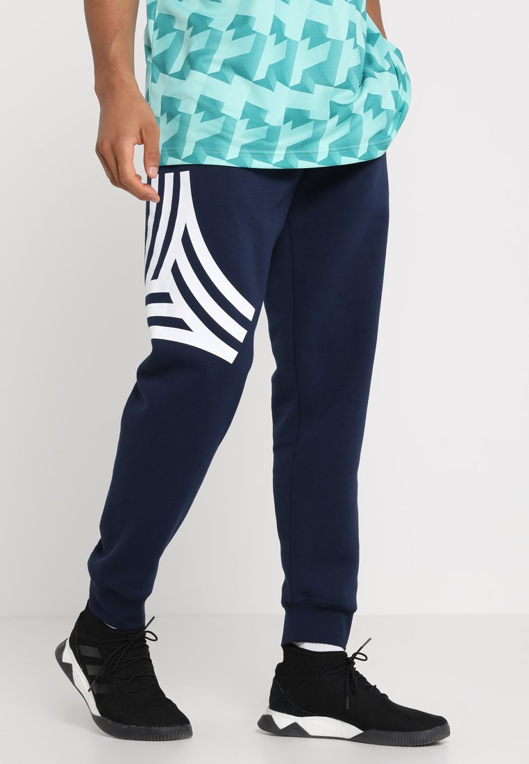 adidas Performance - Tracksuit bottoms - collegiate navy