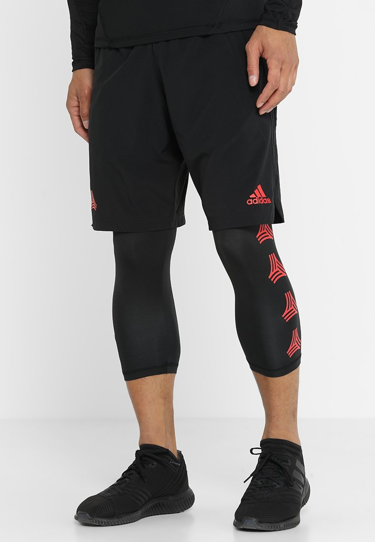 adidas Performance - TAN SHONT - Korte sportsbukser - black