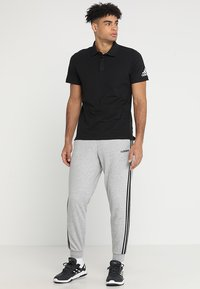 adidas Performance - Trainingsbroek - medium grey heather/black/solid grey - 1