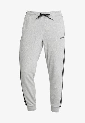 Tracksuit bottoms - medium grey heather/black/solid grey