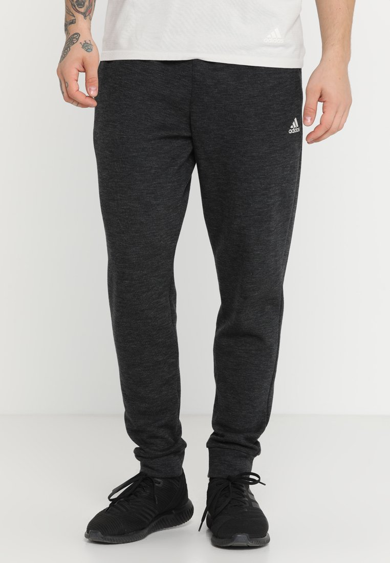 adidas Performance - ID STADIUM - Tracksuit bottoms - black/grey six