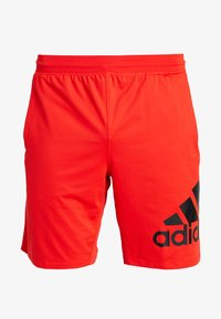adidas Performance - Sports shorts - active red - 3