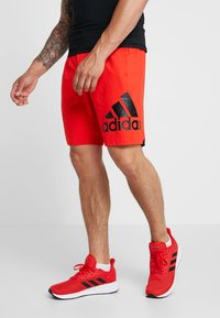 adidas Performance - Sports shorts - active red - 0