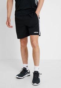 adidas Performance - CHELSEA ESSENTIALS PRIMEGREEN SPORT SHORTS - Sports shorts - black/white - 0