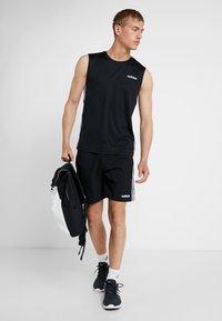 adidas Performance - CHELSEA ESSENTIALS PRIMEGREEN SPORT SHORTS - Sports shorts - black/white - 1