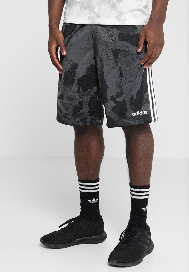 adidas Performance - Korte broeken - dark grey heather/solid grey/black/white