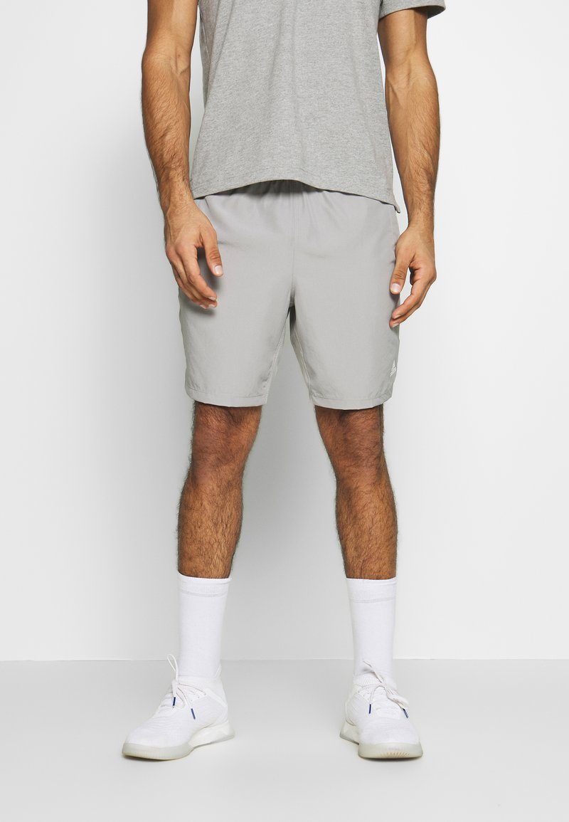 adidas Performance - KRAFT AEROREADY CLIMALITE SPORT SHORTS - Sports shorts - medium grey heather/solid grey