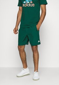 adidas Performance - KRAFT AEROREADY CLIMALITE SPORT SHORTS - Sports shorts - green - 0