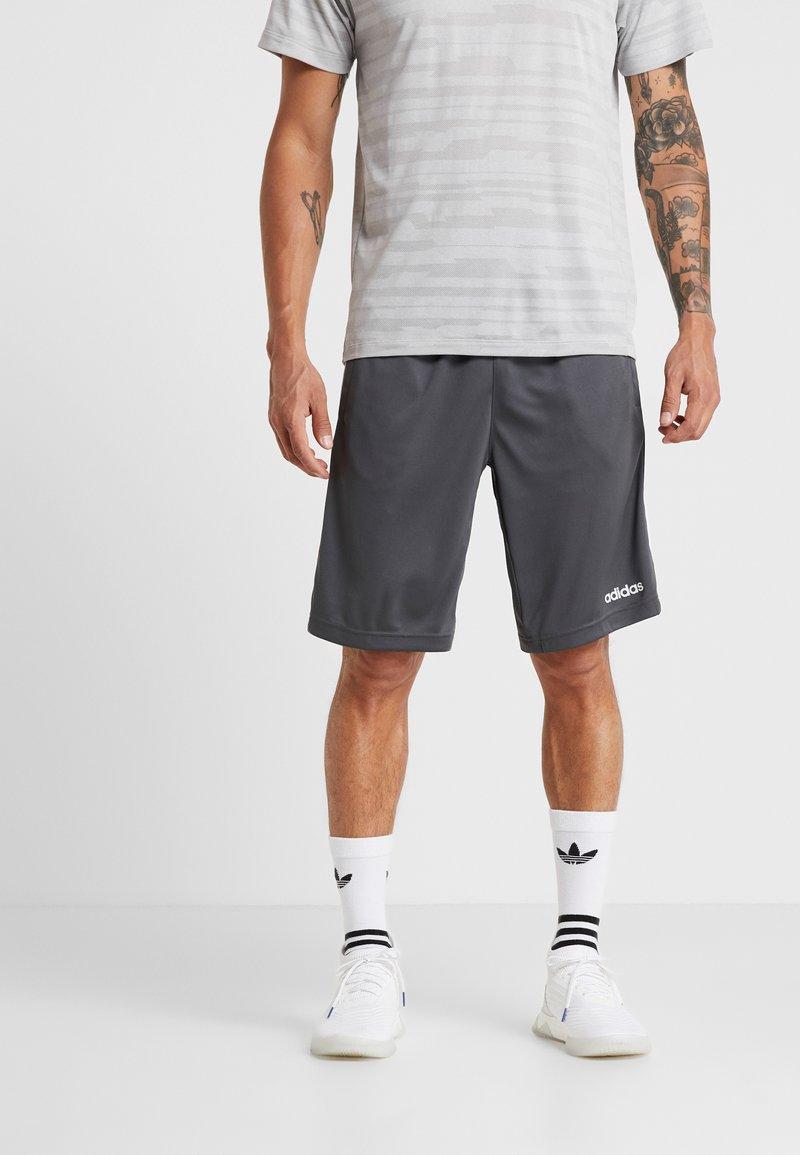 adidas Performance - COOL - kurze Sporthose - grey