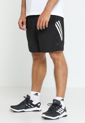4KRFT TECH WOVEN SHORTS - Korte broeken - black/white