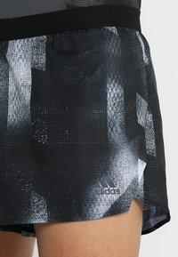 adidas Performance - SUB SPLIT - Korte sportsbukser - black/white - 4
