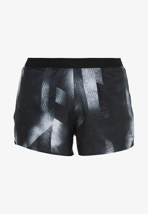 SUB SPLIT - Sports shorts - black/white