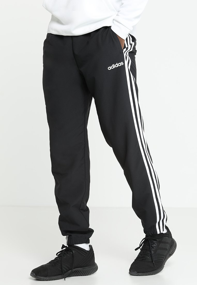 adidas Performance - WIND - Spodnie treningowe - black/white