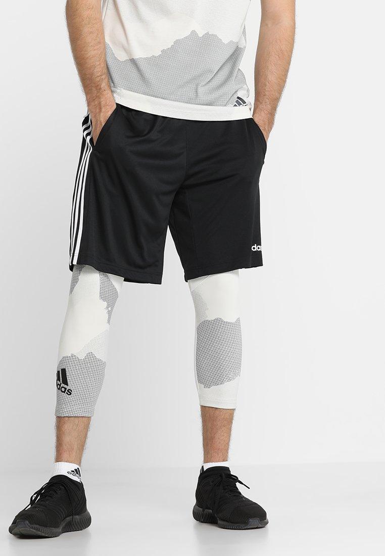 adidas Performance - Tights - raw white/grey three