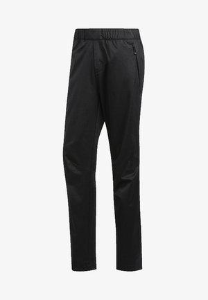 CLIMAPROOF - Teplákové kalhoty - black