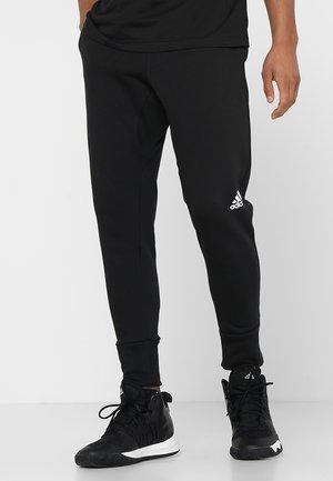 SPORT PANT - Spodnie treningowe - black/white
