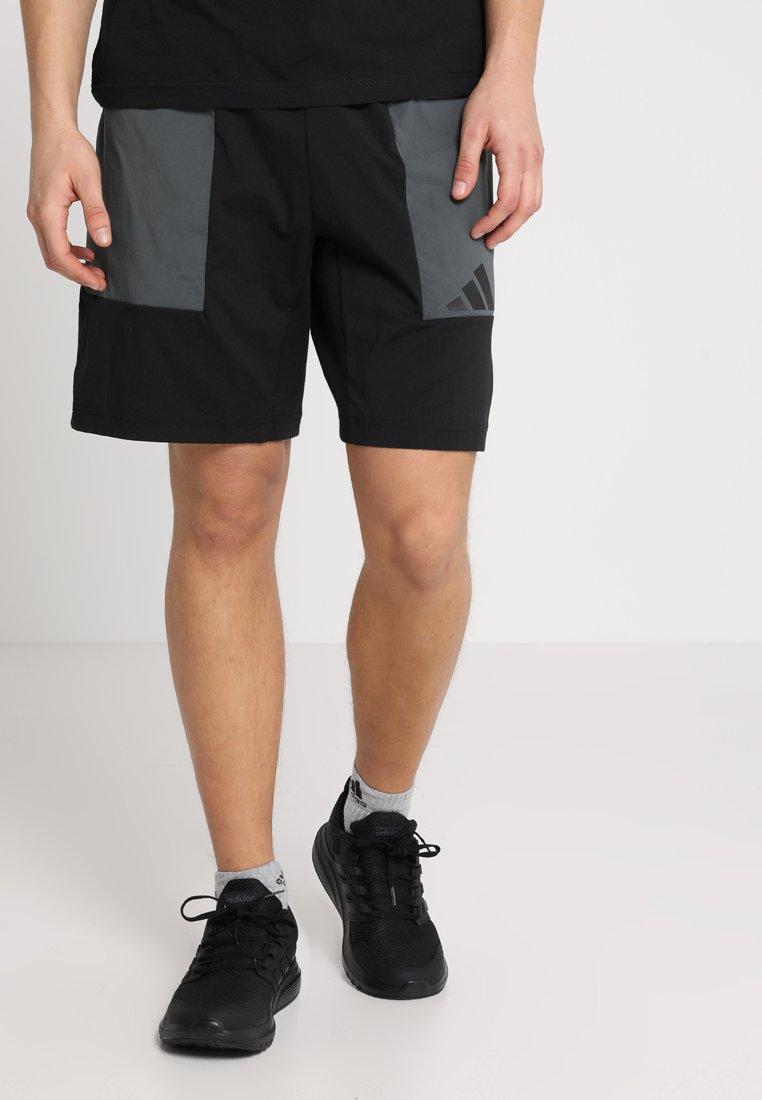 adidas Performance - THE PACK SHORT - Pantaloncini sportivi - black/legend ivy