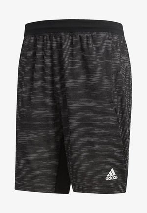 4KRFT Sport Striped Heather Shorts - Sports shorts - black
