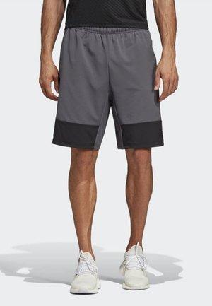 4KRFT TECH 10-INCH ELEVATED SHORTS - Korte sportsbukser - grey six