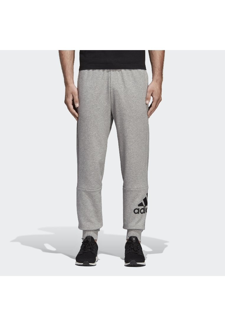 adidas Performance - Must Haves French Terry Badge of Sport Joggers - Jogginghose - grey