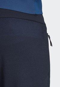adidas Performance - ADIDAS Z.N.E. PRIMEKNIT PANTS - Trainingsbroek - blue - 3