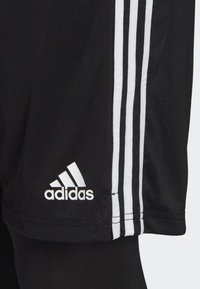 adidas Performance - TIRO 19 TWO-IN-ONE SHORTS - Sports shorts - black/white - 4