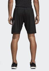 adidas Performance - 4KRFT Sport Graphic Badge of Sport Shorts - Sports shorts - black - 1