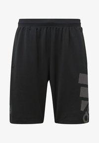 adidas Performance - 4KRFT Sport Graphic Badge of Sport Shorts - Sports shorts - black - 5