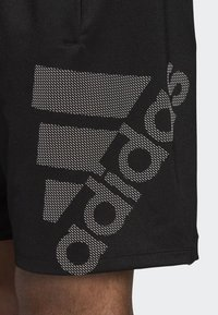 adidas Performance - 4KRFT Sport Graphic Badge of Sport Shorts - Sports shorts - black - 4