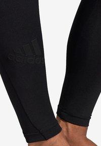 adidas Performance - ALPHASKIN TECH 3-STRIPES LONG TIGHTS - Leggings - black - 6