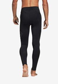 adidas Performance - ALPHASKIN TECH 3-STRIPES LONG TIGHTS - Leggings - black - 1