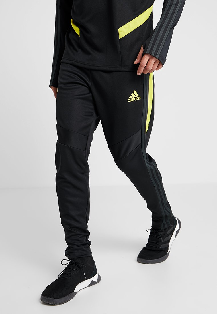 adidas Performance - Manchester United - Träningsbyxor - black/solar grey