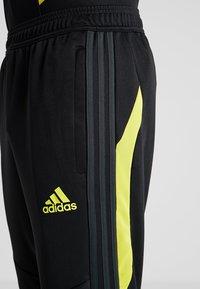 adidas Performance - Manchester United - Teplákové kalhoty - black/solar grey - 6