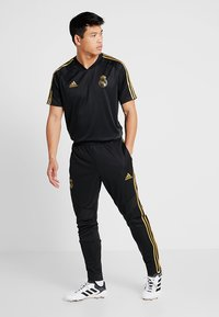 adidas Performance - REAL MADRID CLUB CLIMACOOL FOOTBALL PANTS - Trainingsbroek - black - 1