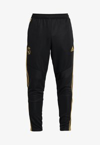 adidas Performance - REAL MADRID CLUB CLIMACOOL FOOTBALL PANTS - Trainingsbroek - black - 6