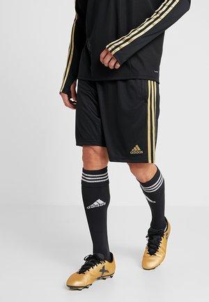 REAL MADRID TR SHO - Pantalón corto de deporte - black/gold