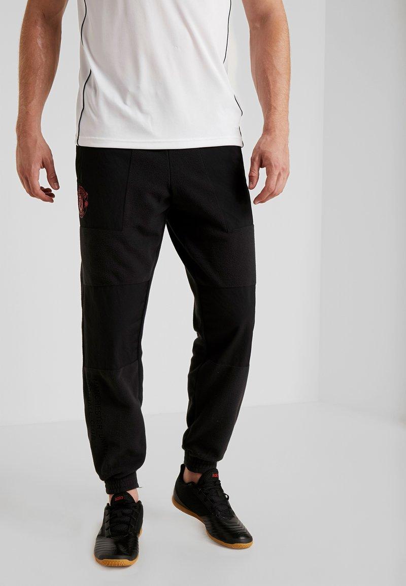 adidas Performance - MUFC - Träningsbyxor - black