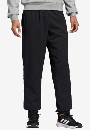 ESSENTIALS PLAIN STANFORD TROUSERS - Verryttelyhousut - black