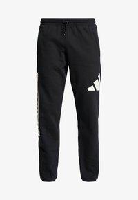 adidas Performance - ATHLETICS PACK SPORT TAPERED SWEAT PANT - Pantalones deportivos - black - 7