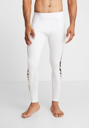 ALPHASKIN SPORT MOTO LIGHTWEIGHT LEGGING - Kalesony - white