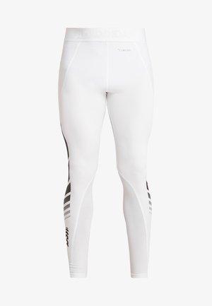 ALPHASKIN SPORT MOTO LIGHTWEIGHT LEGGING - Langunderbukse - white